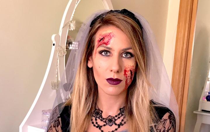 Maquillaje de Halloween conlátex