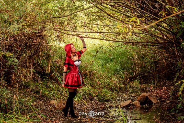 caperucita roja - deliria rose15